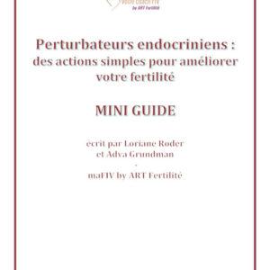Mini-Guide perturbateurs endocriniens